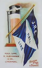 hall line colours
