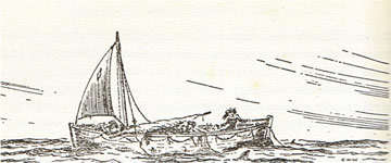 Drawing of No.1 Lifeboat - ss CITY OF CAIRO