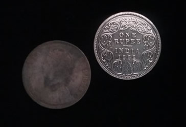 recovered silver coins