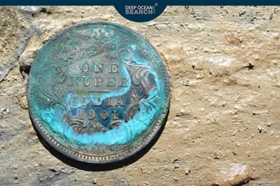 One rupee dated 1901