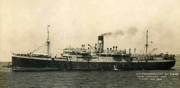 Troopship City of Cairo