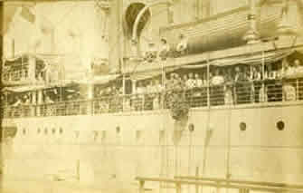 Troopship City of Cairo, World War I